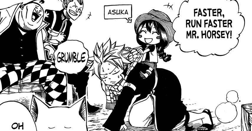 Fairy Tail Side Story: Natsu &Asuka